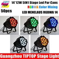 auto paint service - TIPTOP LED MENELAUS RGBWA Aluminum Stage Par Cans Black Painting OEM Service Logo Painting Free x12W IN1 Tyanshine RGBWA
