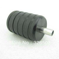 Wholesale One mm Black Aluminum Alloy Tattoo Grip With Back Stem Set Screws AGR35 A