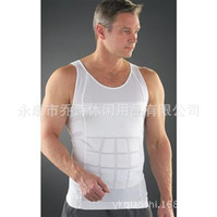 Wholesale Men s Body Shirt slim lift abdomen thin waist Tie Shoushen thin body underwear tight fitting sports vest