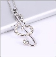 Wholesale Han edition music symbol pendant necklace Birthday gift note clavicle chain sweater chain simple beauty fashion