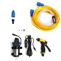 Wholesale Portable V W High Pressure Self priming Electric Car Wash Washer Washing Pump Water Hose with Cigarette Lighter