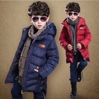 baby flight jacket - 2017 baby boy clothes Outwear children s winter version of the Korean version of Down Coat boys in the standard flight jacket coat