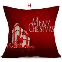 Wholesale Amazing Christmas Present Decorative Home Car Couch Sofa Chair Cushions Pillow Covers Decorate Cushions Cover Without Core CM CM