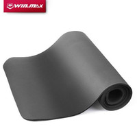 Wholesale Winmax yoga movement rubber non slip gym fitness cushion mm thick yoga MATS of beginners