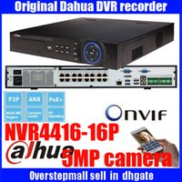 Wholesale Original ENGLISH firmware DAHUA NVR with PoE ports HDD support up to MP Recording Resolution onvif dahua DH NVR4416 P DHNVR4432 P