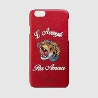 Wholesale 2017 new design G brand tiger head For Apple iphone S plus iphone plus SE silicone case landscape Plating TPU cell phone cases