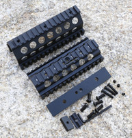 aluminum railing systems - Aluminum CNC M249 Lower and Upper Scope Mount Handguard RIS Rails System Hunting Shooting Tactical Quad Rail Mount