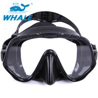 Wholesale New Coming Whael Best Diving Mask Experience with Anti fog and Anti leak Technology MK1000