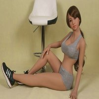Cheap 145cm New Top quality lifelike silicone sex dolls big breast, japanese real love doll, oral vagina pussy anal realistic sex doll