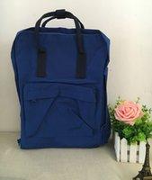 Wholesale 2017 new red fox logo classic mini backpack teen schoolbag boy and girl travel backpack fashion shoulder bag backpacks