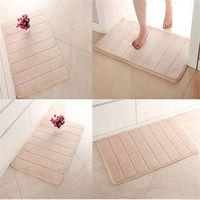 Wholesale Hot sale NEW BathMats Covers Memory Foam Bath Mat cm Absorbent soft bath shower doormat bathroom N603