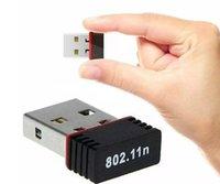 Bon Marché Ethernet cartes sans fil-Nano 150M USB Wifi Adaptateur Sans Fil 150Mbps IEEE 802.11n g b Mini Antena Adaptateurs Chipset MT7601 Carte Réseau 100pcs Libre DHL