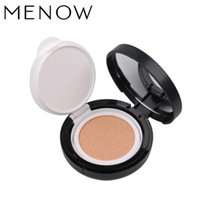 Wholesale M n Menow Cosmetic Nude BB Cushion Fundation Air BB Creams Brighten Moisturizer Faced Makeup Color For Choose