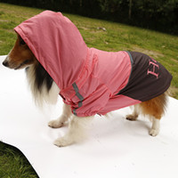 able clothes - Large Dog Raincoat Pet Waterproof Coat Clothes Portable and fold able mix size and colors