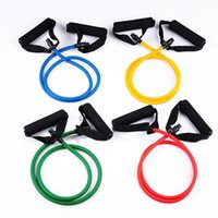 Wholesale New All Purpose Exercise Resistance Band Workout Single Tube Strength Training for Home Gym Yoga Fitness Equipment Exercise Cord