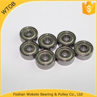 Wholesale China Ball Bearing Factory Shielded Miniature Metal Sealed Ball Bearing ZZ GCR x13x5mm pc Per