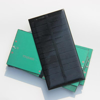 0-20 W solar panel free shipping - Hot Sale W V MA Mini Solar Cell Monocrystalline Solar Panel Solar Module DIY Solar Charger Toys MM