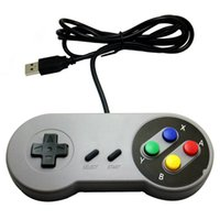 Classic USB Controller Controladores de PC Gamepad Joypad Joystick Reemplazo para Super Nintendo SF para SNES NES Tablet PC LaWindows MAC