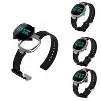 al por mayor teléfono móvil ip67-Impermeable IP67 Smart Wristbands Bluetooth 4.0 Fitness Banda Sport Fitness control pulsera Sleep Tracker función para Android IOS Celular