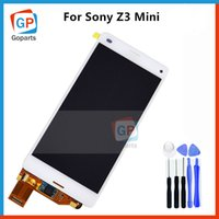 Wholesale Repair Parts For Sony Z3 Mini Compact D5803 D5833 LCD Panel Touch Screen Digitizer Assembly Display