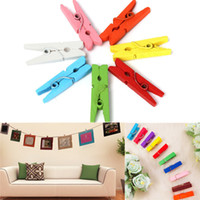 beautiful paper craft - Hot Sale Beautiful Design mm Mini Color Wooden Craft Pegs Clothes Paper Photo Hanging Spring Clips For Message Cards