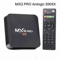 Wholesale 2017 new MXQ Pro K Android TV Box Amlogic S905x Quad Core GB RAM GB FLASH Android tv Streaming Kodi Box