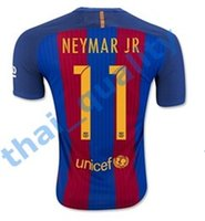 barcelona jersey - 2016 Barcelona Thai Soccer Jersey Top Quality Home Away MESSI ARDA A INIESTA SUAREZ SERGIO PIQUE I RAKITIC Soccer Jerseys