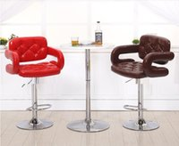 Wholesale computer chair household stool cafe house furniture retail furniture market black flag stripe cloth seat