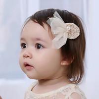 Baby grils bande de cheveux grils net fils accessoires papillon 2017 nouvelle mode filles net disque accessoires de perles enfants épingle douce T0668