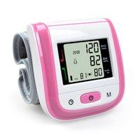 Wholesale Health Care Automatic Wrist Blood Pressure Monitor Digital LCD Wrist Cuff Blood Pressure Meter Esfingomanometro Tonometer