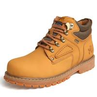 Wholesale Men s Boots High Quality Warm Fur Winter Boots Plus Size Work Leather Shoes Fashion Ankle Boot Men Shoes Autumn Botas Hombre