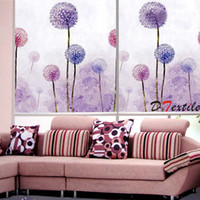 Wholesale Chinese oil painting finished roller blind Flower painting roller blind MT66 Series