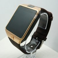 Wholesale Wearable Devices DZ09 Smart Watch Support SIM TF Card Electronics Wrist Watch Connect Android Smartphone DZ09 Smartwatch