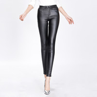Wholesale Women s imitation leather leggings of new fund of autumn winters is high elastic arm render foot trousers women cultivate one s moralit
