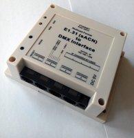 Wholesale E1 Streaming ACN Protocol to DMX Interface Bridge DMX512 over ethernet DMX512 Universes output total DMX channels