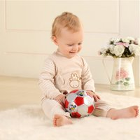 Wholesale Newborn Baby Clothes years old Color Cotton Children s Clothing Side Buttons Long sleeved Sleeves Rompers Soft and No Stimulation