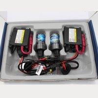 achat en gros de kit voiture caché h7 xénon-55w Xenon H7 voiture kit 12v HID H1 H3 H8 H9 H10 H11 9005 HB3 9006 Hb4 880 881 Lampe Auto Metal Slim Ballast