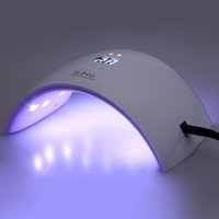 Wholesale Upgrade SUN9S W LED Nail Dryer with LCD Timer and Leds Ultraviolet Nail Lamp for Nails UV Gel Polish Nail Art