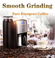 Wholesale Factory selling directly full automatic grinding and making coffee machine home business intelligent induction espresso coffee maker