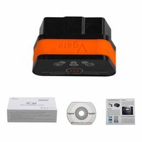 Wholesale Hot Selling Original Vgate WiFi iCar OBDII ELM327 iCar2 wifi vgate OBD diagnostic interface for IOS iPhone iPad Android Colors Available