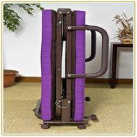 Wholesale Roll Away Guest Portable Sleeper Cot Purple cm