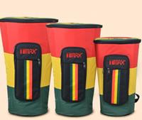 Wholesale Genuine TMAX thickened shock African drum bag waterproof drum kit can be back shoulder drum bag package inch inch inch