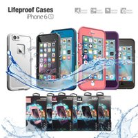 Wholesale 2016 New Arrival Life Water proof Case For iPhone s fre Waterproof case Retail packaging