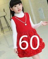 achat en gros de filles nouvelles robes-Livraison gratuite mode nouvelle robe de fille d'hiver d'automne robe chaude vêtements pour bébés enfants