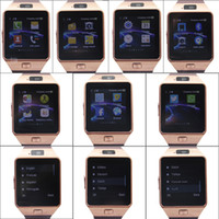 Wholesale DZ09 Smartwatch Bluetooth GT08 Smart Watch Support SIM Card Sleep Monitor Sedentary Reminder For Android IOS Samsung iPhone