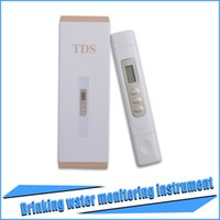 Wholesale new Portable TDS Meter Detection Pen Digital Water Filter Professional Measuring Quality Purity Waterproof like xiaomi tds