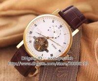 bg fashion watches - NEW Luxury Brand watch CLASSIQUE COMPLICATIONS white dial watch BA BR Tourbillon Automatic watch mens fashion Wristwatches BG