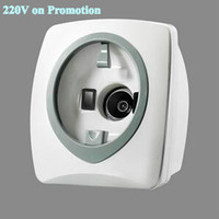 Wholesale 220V Desk top Skin Analyzer Skin Scanner RGB UV lights available in New Year Promotion