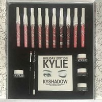 Wholesale In stock chirtsmas New Limited Edition Kylie Cosmetics Holiday Edition Box Gift Set Global