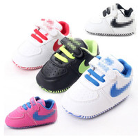 Wholesale Baby fashion toddler shoes new children PU sports shoes CM CM CM BB soft bottom casual shoes in stock pair B3